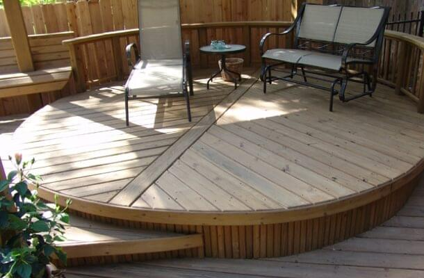 Transform your deck from plain to the PLACE TO BE!
